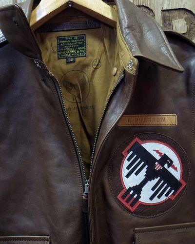 "画像3: Pherrow's ""18W-A-2-P"" Horse Hide Flight Jacket"