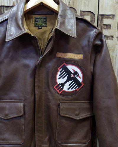 "画像1: Pherrow's ""18W-A-2-P"" Horse Hide Flight Jacket"