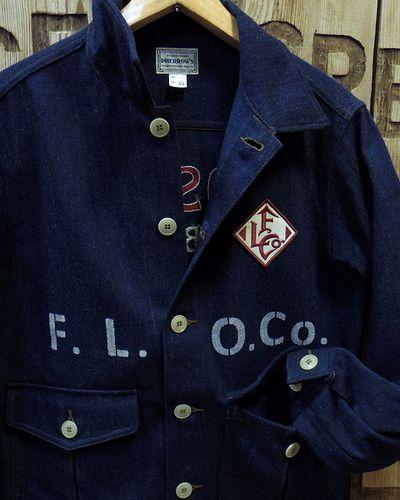 "画像3: Pherrow's ""18W-PWJ1-E"" Wool Melange Work Jacket"
