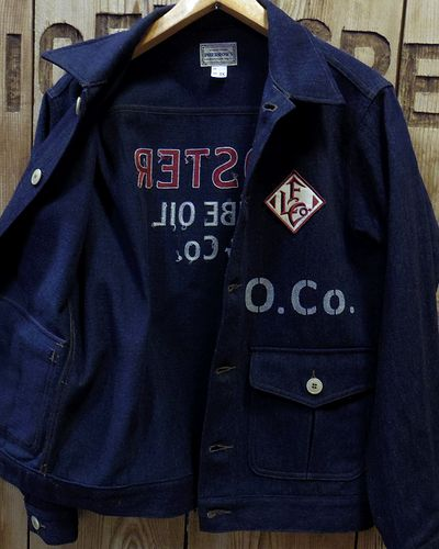"画像4: Pherrow's ""18W-PWJ1-E"" Wool Melange Work Jacket"