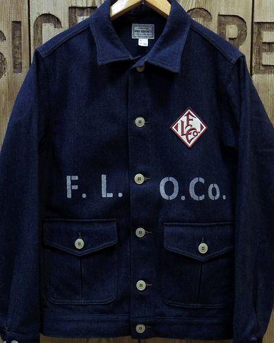 "画像2: Pherrow's ""18W-PWJ1-E"" Wool Melange Work Jacket"
