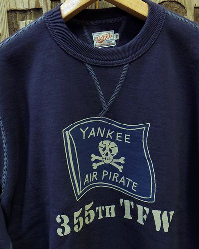 "画像3: TOYS McCOY -MILITARY SWEAT SHIRT ""YANKEE AIR PIRATES""-"