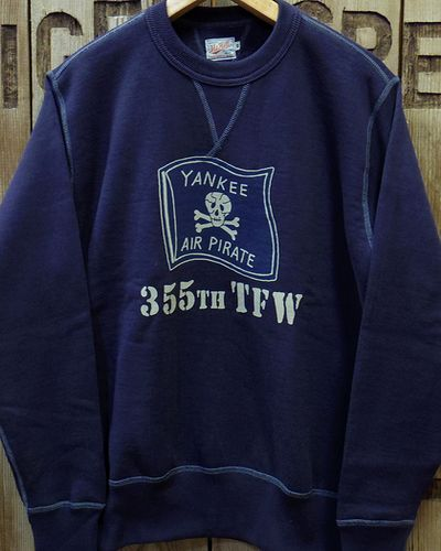 "画像2: TOYS McCOY -MILITARY SWEAT SHIRT ""YANKEE AIR PIRATES""-"