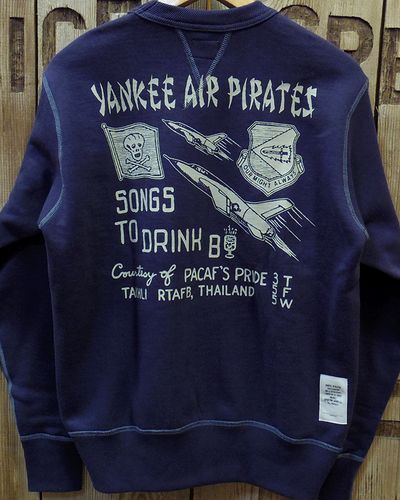"画像4: TOYS McCOY -MILITARY SWEAT SHIRT ""YANKEE AIR PIRATES""-"