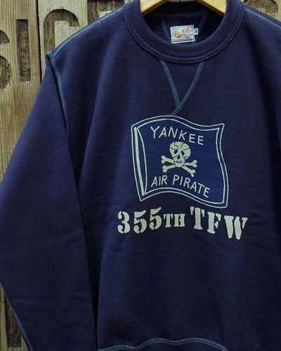 "画像1: TOYS McCOY -MILITARY SWEAT SHIRT ""YANKEE AIR PIRATES""-"