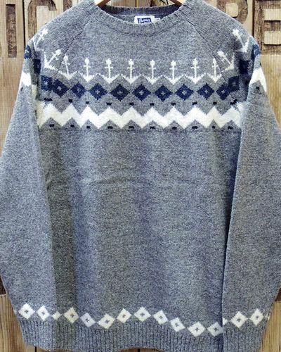 """画像2: Pherrow's """"18W-PSFS1"""" Jacquard Sweater"""