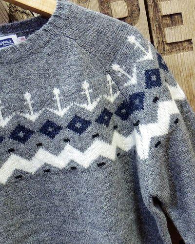 """画像3: Pherrow's """"18W-PSFS1"""" Jacquard Sweater"""
