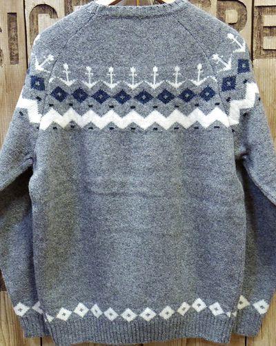 """画像5: Pherrow's """"18W-PSFS1"""" Jacquard Sweater"""