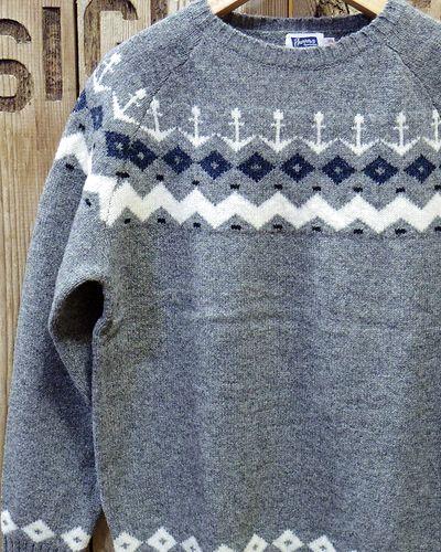 """画像1: Pherrow's """"18W-PSFS1"""" Jacquard Sweater"""