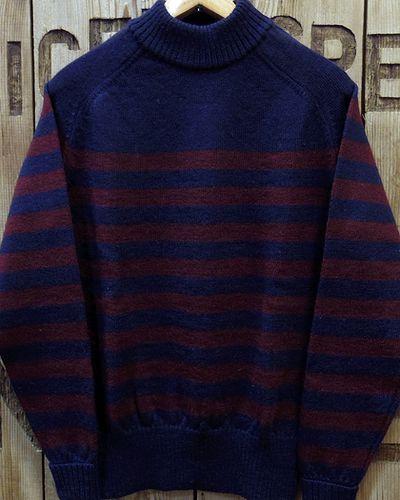 "画像2: Pherrow's ""18W-PJCS1-B"" Border Sweater"
