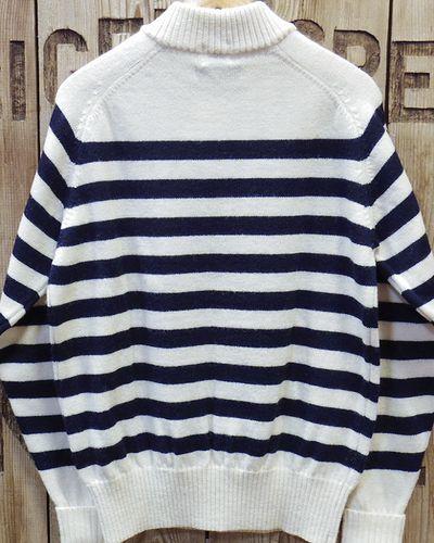"画像5: Pherrow's ""18W-PJCS1-B"" Border Sweater"