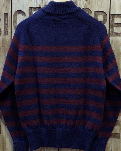 "画像3: Pherrow's ""18W-PJCS1-B"" Border Sweater"