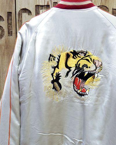 """画像1: KOSHO & CO. -SOUVENIR JACKET """"Tiger Head"""" × """"Eagle Print""""-"""