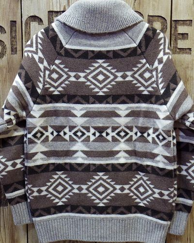 "画像3: Pherrow's ""18W-PRCS1"" Cowichan Sweater"