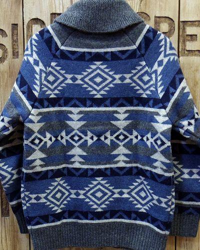 "画像5: Pherrow's ""18W-PRCS1"" Cowichan Sweater"