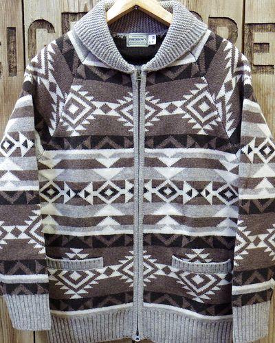 "画像2: Pherrow's ""18W-PRCS1"" Cowichan Sweater"