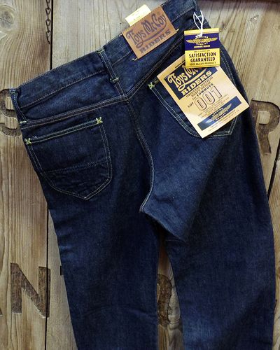画像2: TOYS McCOY -OVERALLS for RIDERS DENIM LOT 001Z-