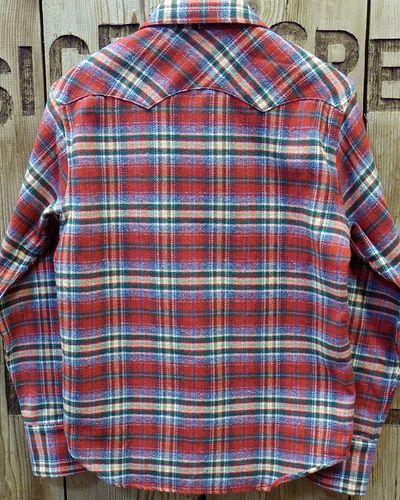 "画像5: Pherrow's ""18W-833CS-C / B"" Flannel Western Shirt"