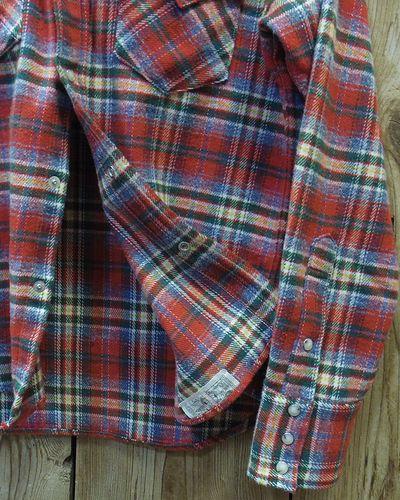 "画像3: Pherrow's ""18W-833CS-C / B"" Flannel Western Shirt"