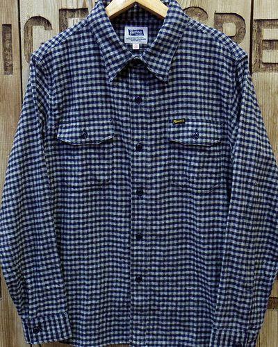 """画像1: Pherrow's """"18W-722WS-C"""" Flannel Shirt"""