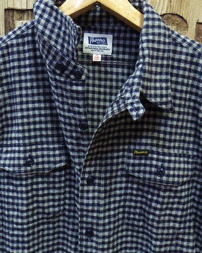 """画像2: Pherrow's """"18W-722WS-C"""" Flannel Shirt"""