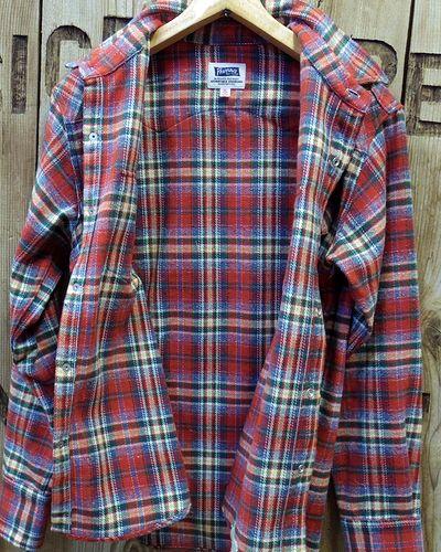 "画像4: Pherrow's ""18W-833CS-C / B"" Flannel Western Shirt"