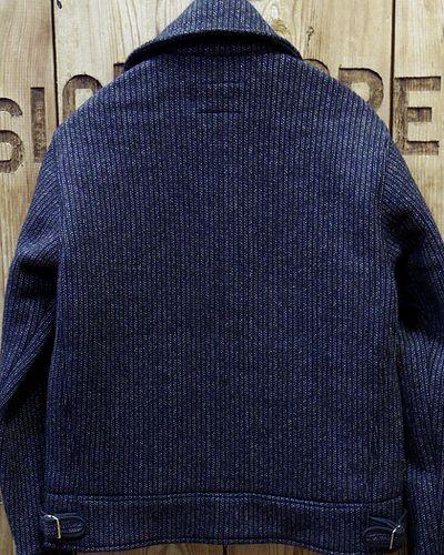 画像5: CUSHMAN -BEACH CLOTH COSSACK JACKET- NAVY STRIPE