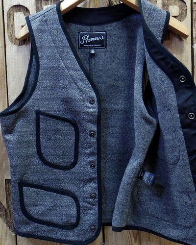 "画像4: Pherrow's ""18W-PWV3"" Wool Vest"