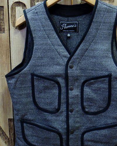 "画像1: Pherrow's ""18W-PWV3"" Wool Vest"