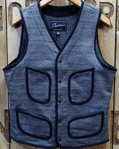 "画像2: Pherrow's ""18W-PWV3"" Wool Vest"