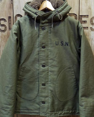 画像2: TOYS McCOY -N-1 HOODED COAT-