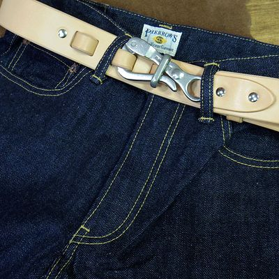 "画像3: Pherrow's ""19S-FRONTIER HOOK BELT"""