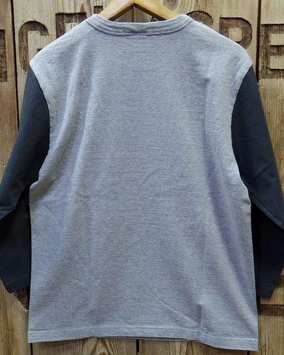 画像3: BARNS -3/4 Sleeves 2 Tone Tee-