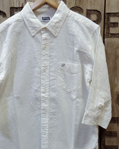 "画像1: Pherrow's ""19S-P7BD1"" 3/4 Sleeves B.D Shirts"