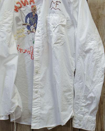 """画像5: MFSC   -BROAD CLOTH """"DUDE RANCH"""" SHIRT w/EMB'D-"""
