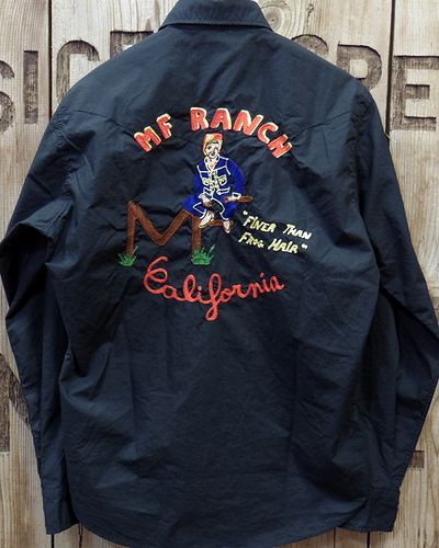 "画像5: MFSC   -BROAD CLOTH ""DUDE RANCH"" SHIRT w/EMB'D-"