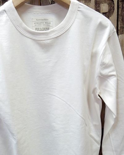 画像3: FULLCOUNT -FLAT SEAM HEAVY WEIGHT LONG TEE- 5222L