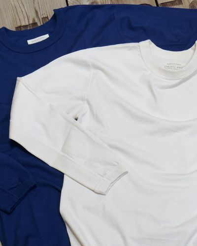 画像1: FULLCOUNT -FLAT SEAM HEAVY WEIGHT LONG TEE- 5222L