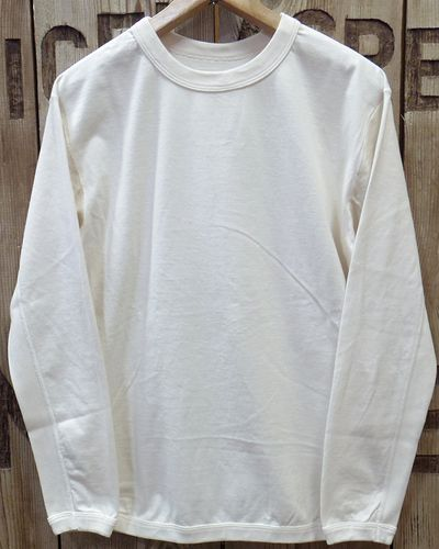 画像2: FULLCOUNT -FLAT SEAM HEAVY WEIGHT LONG TEE- 5222L