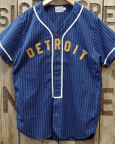 """画像4: Pherrow's -S/S BaseBall Shirt """"DETROIT""""-"""