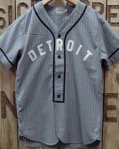 """画像5: Pherrow's -S/S BaseBall Shirt """"DETROIT""""-"""