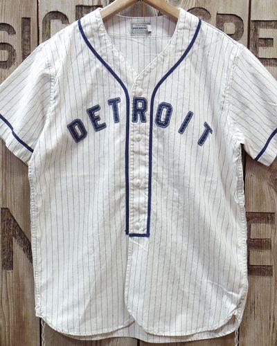 """画像2: Pherrow's -S/S BaseBall Shirt """"DETROIT""""-"""