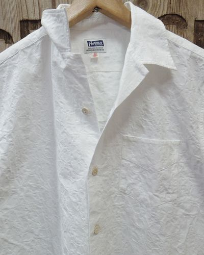 "画像3: Pherrow's ""19S-PIS1"" Jacquard S/S Open Shirt"