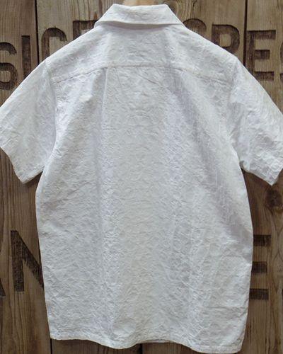 "画像5: Pherrow's ""19S-PIS1"" Jacquard S/S Open Shirt"