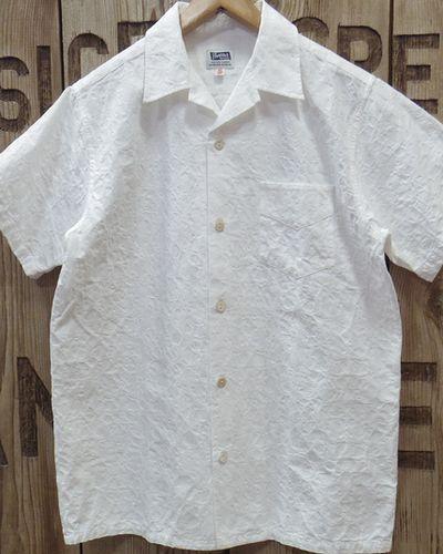 "画像2: Pherrow's ""19S-PIS1"" Jacquard S/S Open Shirt"