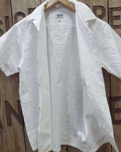 "画像4: Pherrow's ""19S-PIS1"" Jacquard S/S Open Shirt"