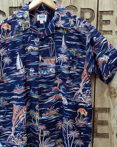 "画像1: Pherrow's ""19S-PIS3"" Hawaiian Shirts"