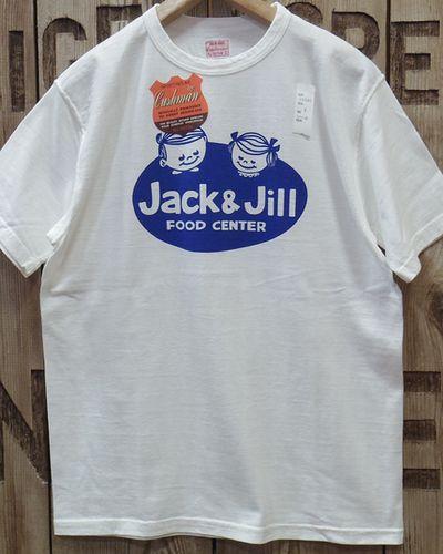 "画像2: CUSHMAN -RECYCLE COTTON TEE ""Jack & Jill""-"