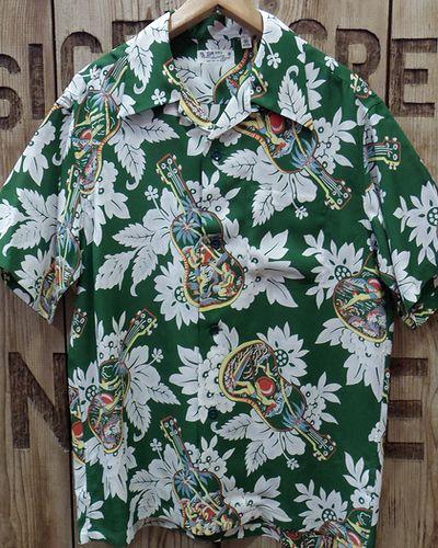 """画像2: SUN SURF -""""UKULELE MELODY""""- Hawaiian Shirts"""