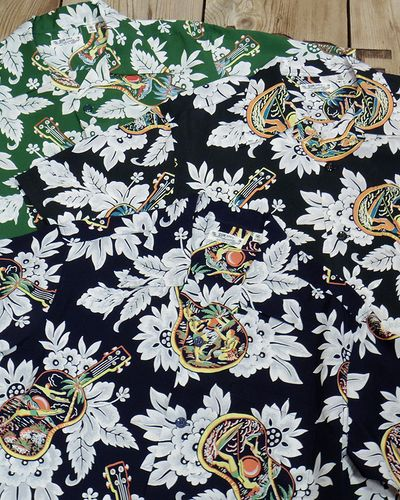 """画像5: SUN SURF -""""UKULELE MELODY""""- Hawaiian Shirts"""